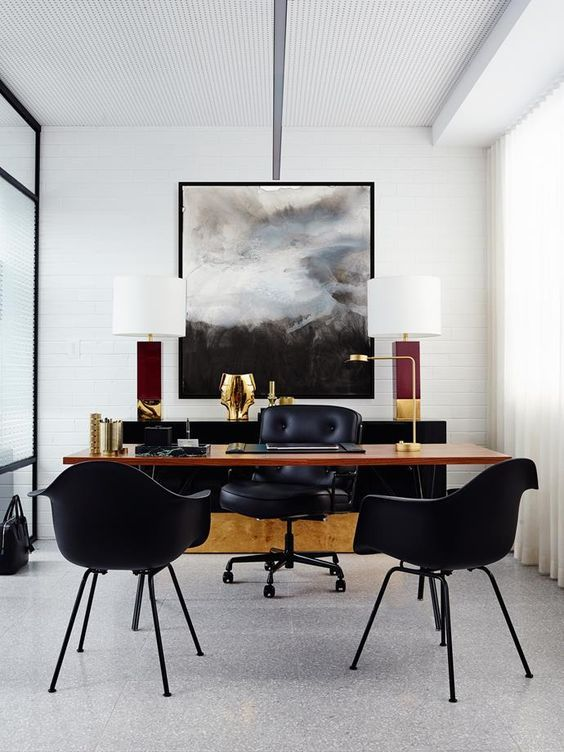 Come get amazed by the best retro office decor inspiration. See more midcentury pieces at http://essentialhome.eu/