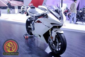 Not a Chinese motorcycle, but was on the Lifan stand at CIMA motor 2014 - MV Augusta F4 RR