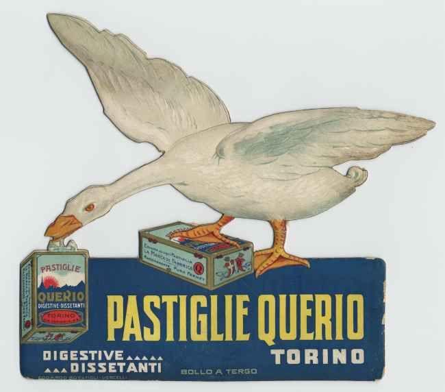 Pastiglie Querio - prodotti alimentari delle industrie piemontesi - 1900-1950