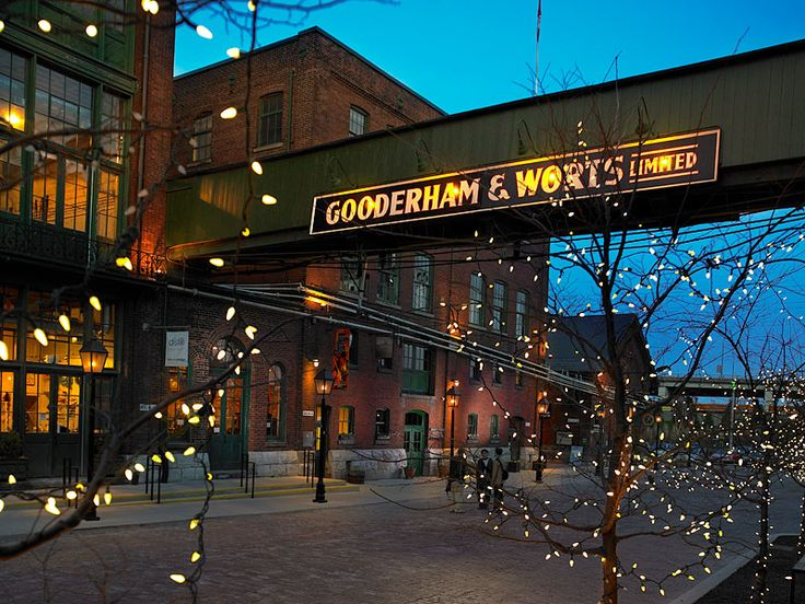 Toronto's Distillery District, one of my favourite places in Toronto.