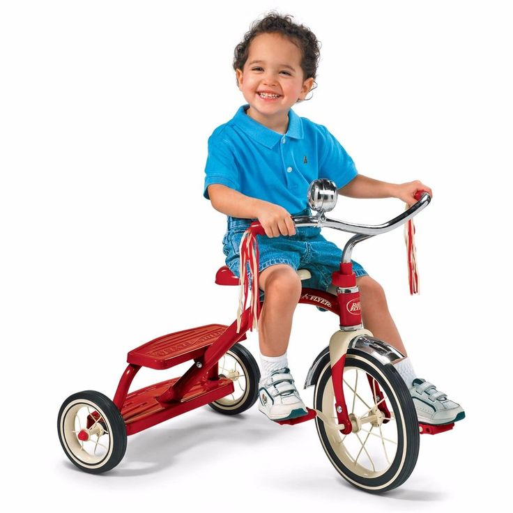 Radio Flyer Classic Red Dual Deck Tricycle New Ride Kids Bike Trike 12 Toy Wheel For Great Deals, Visit http://www.ebay.com/usr/usa-select-commerce #RadioFlyer #Tricycle #Boys #Girls #RideToy #Toys #Bike #Trike #Wheel #ClassicBike #DualDeckTricycle #DualDeck #OutdoorToys #Children