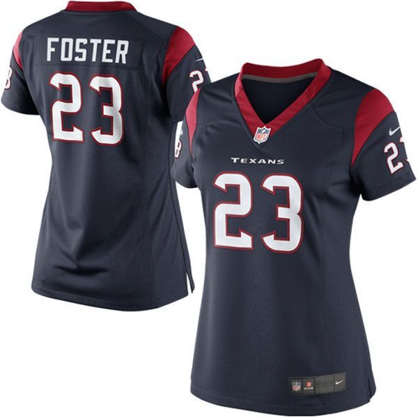 foster houston texans nike womens limited jersey navy blue drew brees nike houston texans white wome