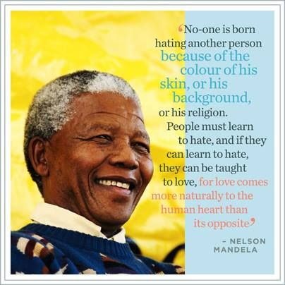May you rest in peace Madiba