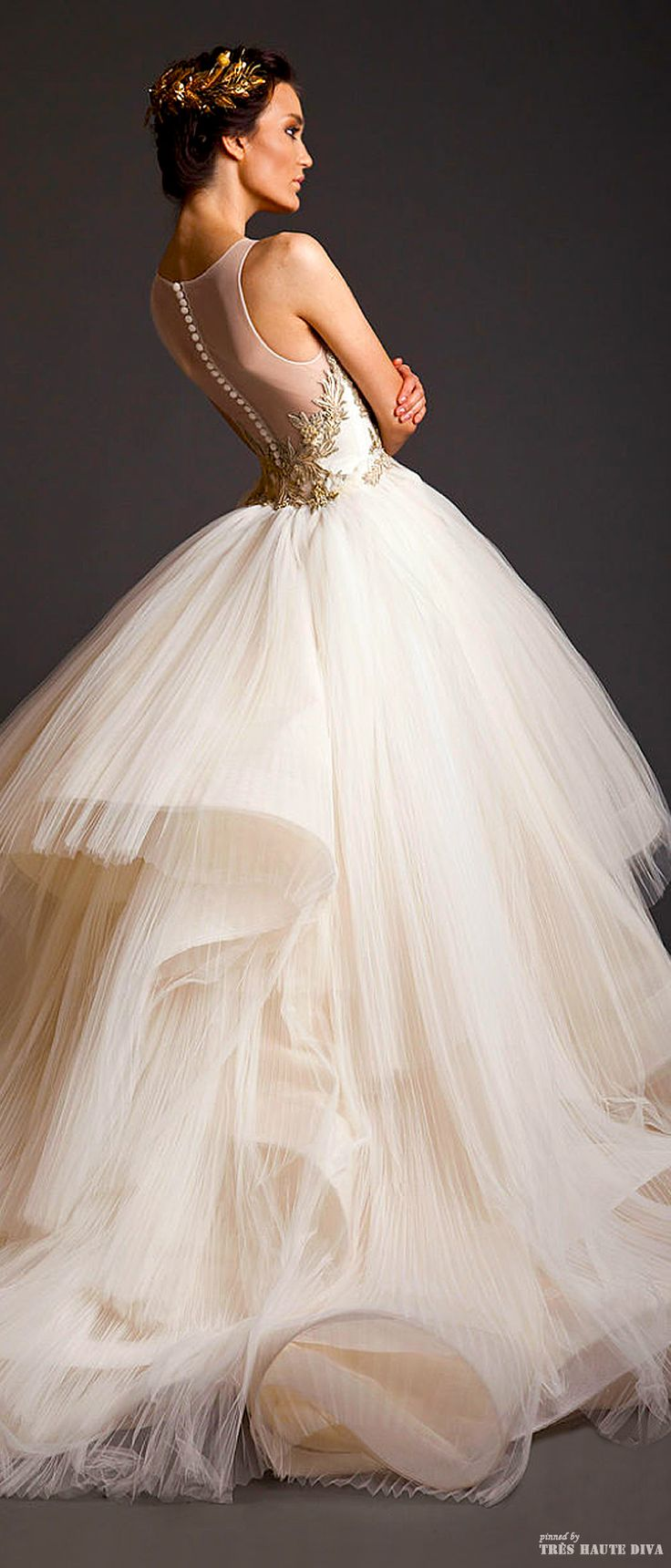 Krikor Jabotian Couture S/S 2014. We love beautifully designed and made clothes at Renaissance Fine Jewelry a store that lets women honor themselves.Live with confidence ladies!