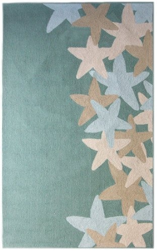 Seaside Starfish Ocean Rug 9'X12' by iCustomRug, http://www.amazon.com/dp/B0094JTJ82/ref=cm_sw_r_pi_dp_rOSarb0VQF5ZB