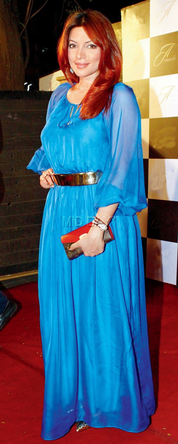 Shama Sikander at the launch of Vikas Kanoi's Aurelle store. #Bollywood #Fashion #Style #Beauty