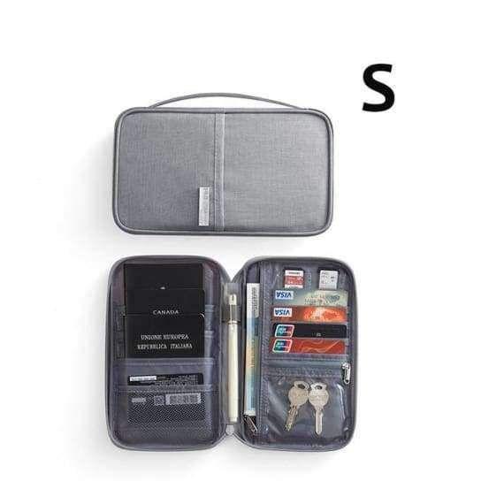 fa2d6fe73fc1 Travel Passport Foldable Credit Card Holder Money Wallet ID ...