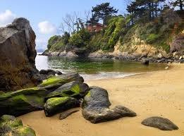 Playa de Espiñeiro en Mera .Oleiros- A Coruña