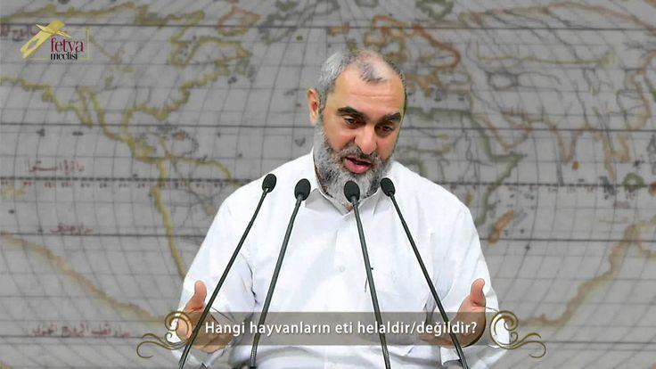 130) Hangi hayvanların eti helaldir/değildir?-Nureddin Yıldız - fetvameclisi.com
