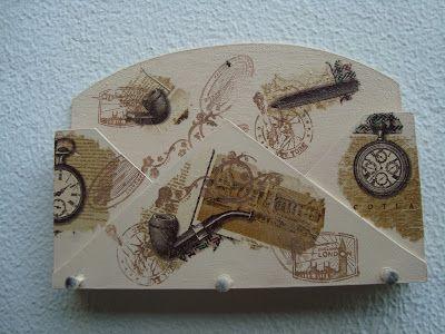 Atelier Julainne: Decoupagem em madeira