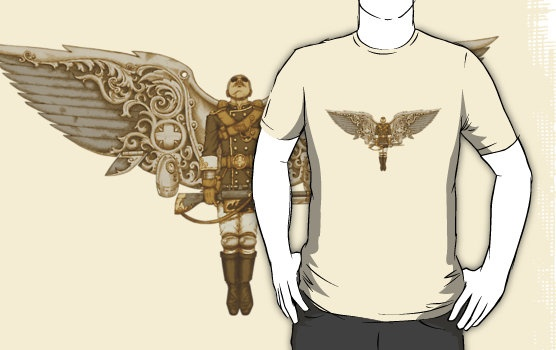 Steampunk T-shirt Peregrine 1