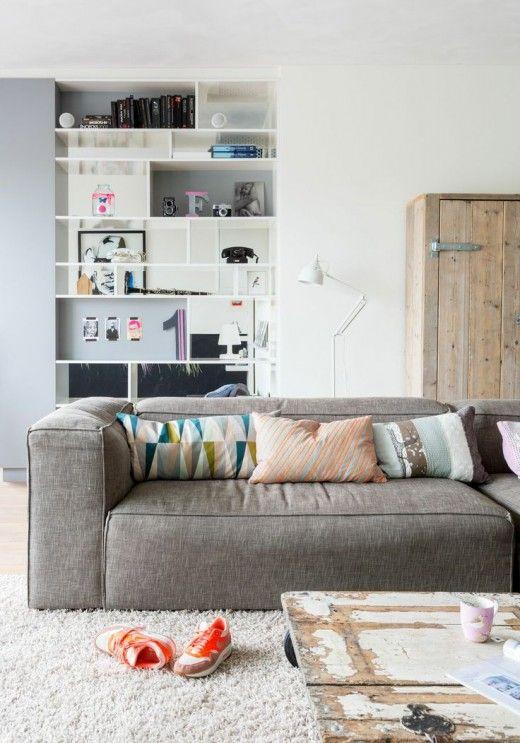 Comfortable Modern Sofa Via Simply Grove