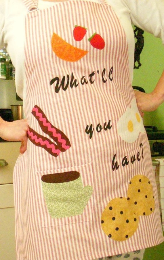 for momma in law!!!  cutest apron ever!