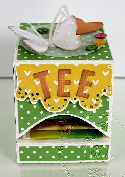 ♥ Flati s Stempelwelt ♥: Teebox - FREEBIE ♥