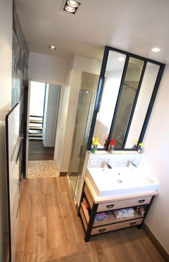 17 meilleures id es propos de salle de bains familiale for Salle de bain 6m2