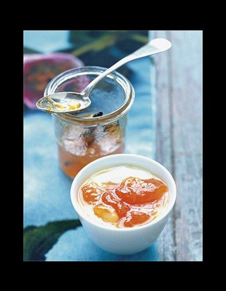 Confiture d abricots a la vanille