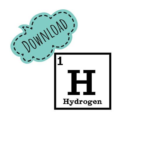 Full Periodic Table 5x5 Blocks Machine Embroidery Design #designsbyjayney
