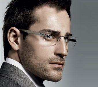 men's rimless eyeglasses - Google Search