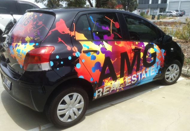 Car wrapping is one of the most effective ways you can advertise your business!