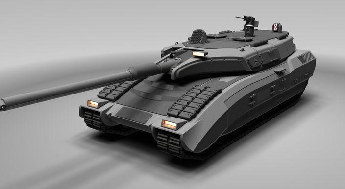 Nuevo tanque de guerra Aleman - Taringa!