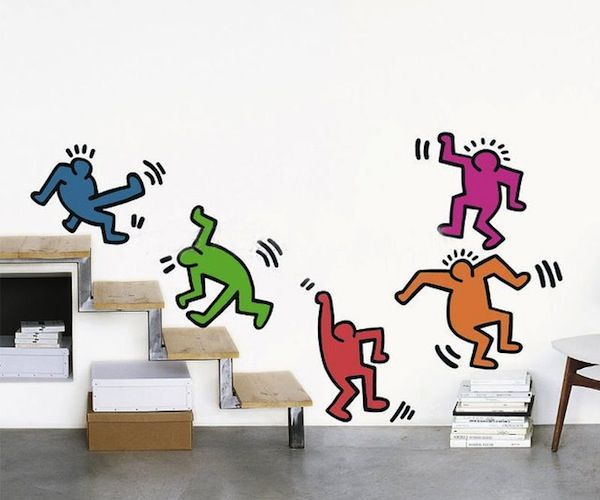 Find This Pin And More On Vinilos. Haring Five Dancing Figures Decals ... Part 13