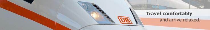Train Travel // Deutsche Bahn