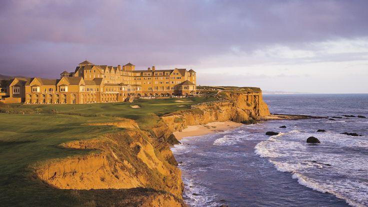 The Ritz-Carlton, Half Moon Bay -  a spectacular cliffside resort.