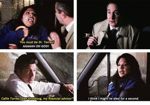 I laughed so hard at Callie's reaction! This was literally one of my favorite scenes ever.