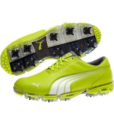 Rickie Fowler Limited Edition Green Puma Golf Shoes #pumagolf #footwear #rickiefowler