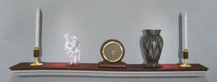 Декоративная каминная полка своими руками