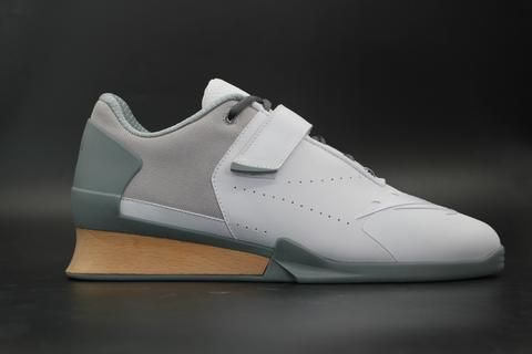 Velaasa Strake  Olympic Weightlifting Shoe in Winter White d2bd04132
