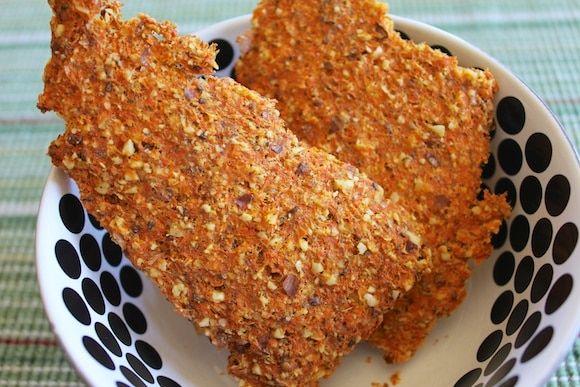 Gulerodspulver Crackers alle færdige