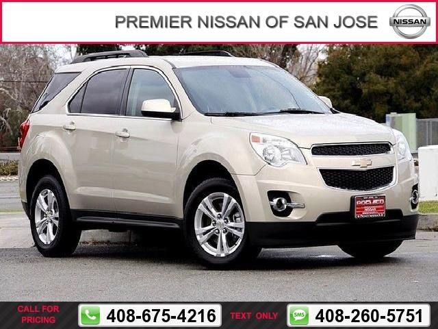 2012 Chevrolet Chevy Equinox LT w/2LT Call for Price  miles 408-675-4216 Transmission: Automatic  #Chevrolet #Equinox #used #cars #PremierNissanofSanJose #SanJose #CA #tapcars