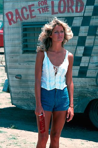 RACE FOR THE LORD - Farrah Fawcett - 1974