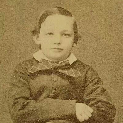 *WILLIE LINCOLN ~ c.1861