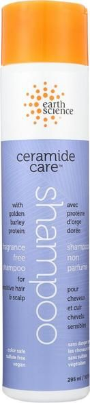 Earth Science Ceramide Care Fragrance Free Shampoo - Case Of 1 - 10 Fl Oz.
