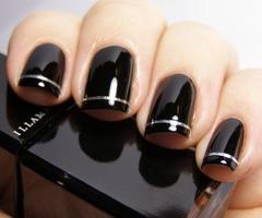 nails nails nails: Make Up, Nail Polish, Nailart, Style, Nail Designs, Makeup, Black Nails, Beauty, Nail Art
