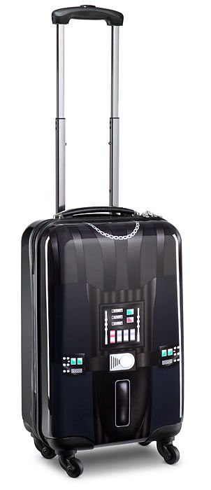Star Wars Darth Vader Rolling Luggage - Exclusive