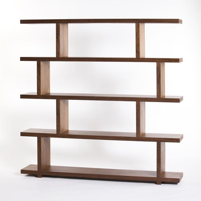 featuring four open shelves this bookcase in brown or white provides an exciting way to