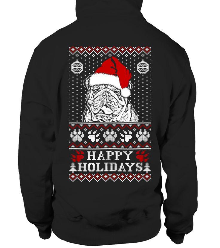 Bulldog Xmas Tee T Shirt Hoodie  #christmas #xmas #hoodie #ideas #image #shirt #tshirt #sweatshirt #tee #gift #perfectgift #birthday