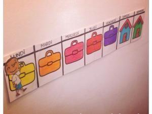 Un semainier pour enfants, c'est la rentrée ! [DIY] • Hellocoton.fr