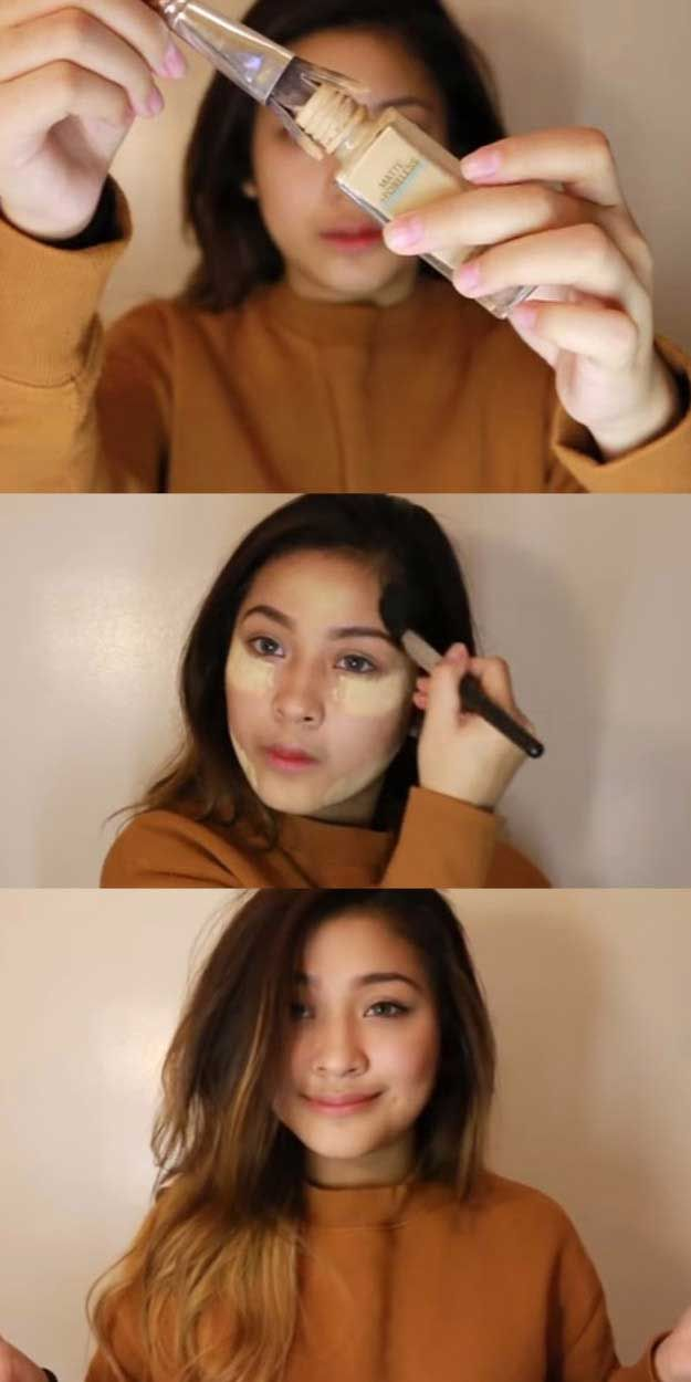 Makeup Tips For Asian Women - Easy Everyday Make Up Tutorial | Asian Skin (Filipino Video) - Simple Step By Step Tutorial and Guides for Everyday Beauty Looks - Natural Monolid Guides with Before And After Looks - Best Products for Contouring and Hooded Eye Looks, Looks for Prom or the Wedding and Tips for Cute and Dramatic Korean Styles - thegoddess.com/makeup-tips-asian-women