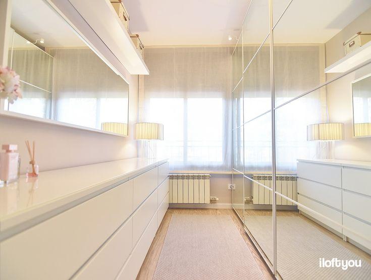 #proyectovalldaura #iloftyou #interiordesign #interiorismo #barcelona #satcugat #ikea #ikealover #ikeaaddict #maisonsdumonde #kenayhome #dressroom #malm #stave #lack #pax #faroiluminacion #pax