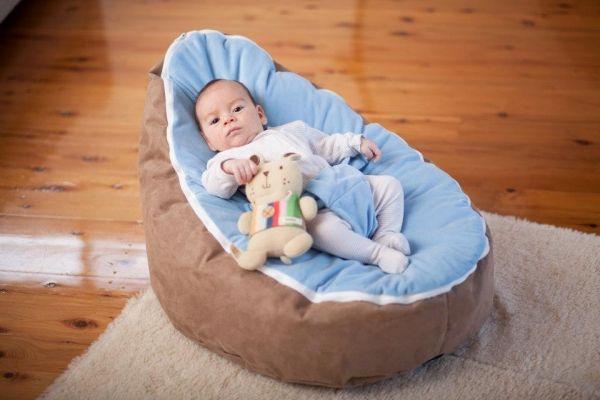 Baby Sitzsack Möbel-für Babyzimmer Ideen Einrichtung