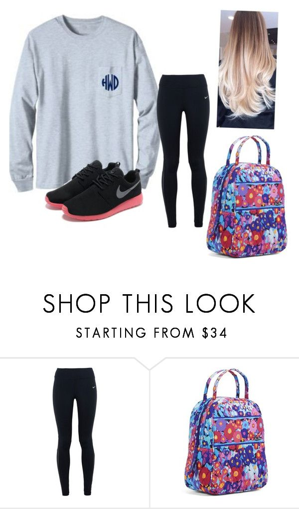 """Got into the seventh grade spelling bee"" by sarahs2734 ❤ liked on Polyvore featuring NIKE, Vera Bradley, women's clothing, women's fashion, women, female, woman, misses and juniors"