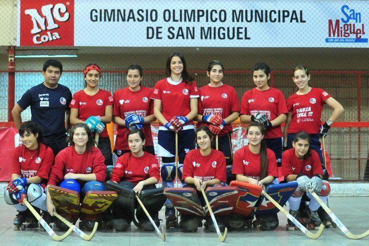 Selección Chilena femenina de hockey patin