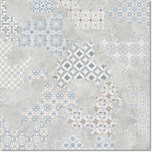 Kolekcja Cover - płytki podłogowe Dec. Cover Acero Nat. Rett. 60x60