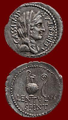 coin of Gaius Cassius Longinus