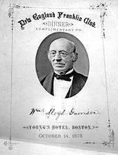 William Lloyd Garrison - Wikipedia, the free encyclopedia