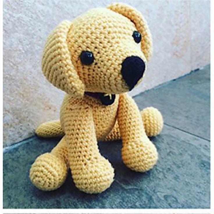 Crochet Labrador..# free #crochet pattern link here